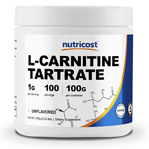 Nutricost L-Carnitine Tartrate Powder (250 grams)