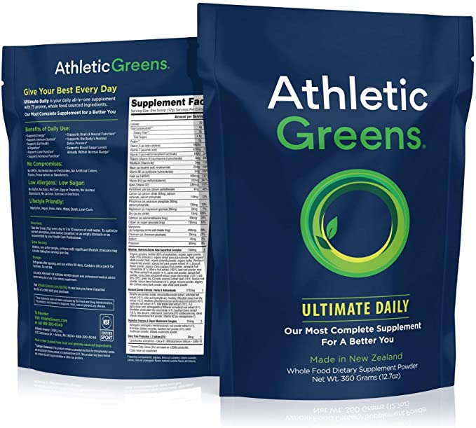 Athletic Greens Review: The Superfood Supplement You Need