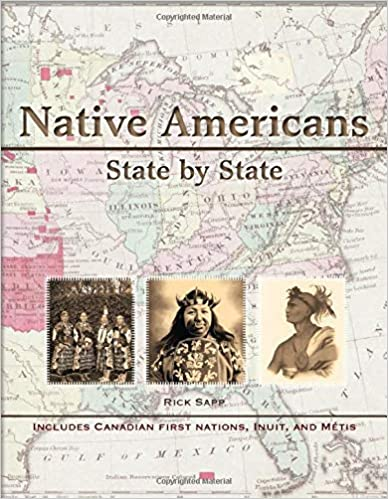 Book Cover of the Native Americans State by State by Rick Sapp