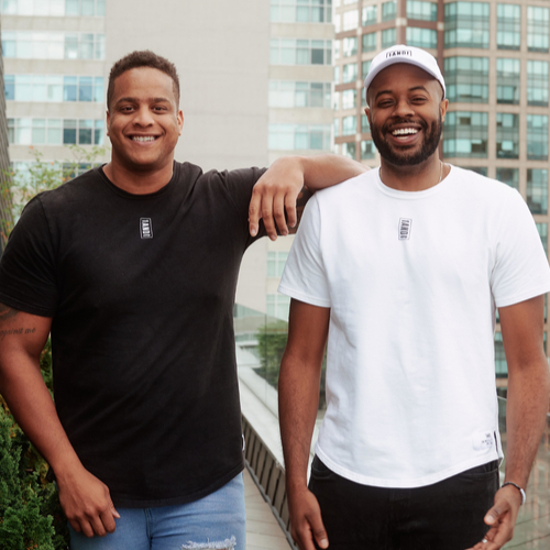 Corey Lewis and Thomas Drew, Founders of 1AND1 Life
