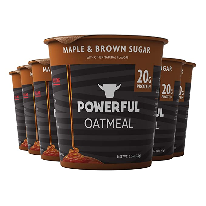 Powerful Foods' Instant Oatmeal Cup