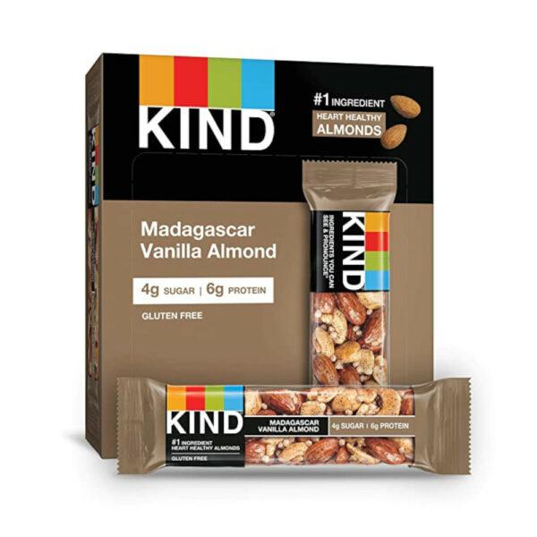 KIND Bars, Madagascar Vanilla Almond