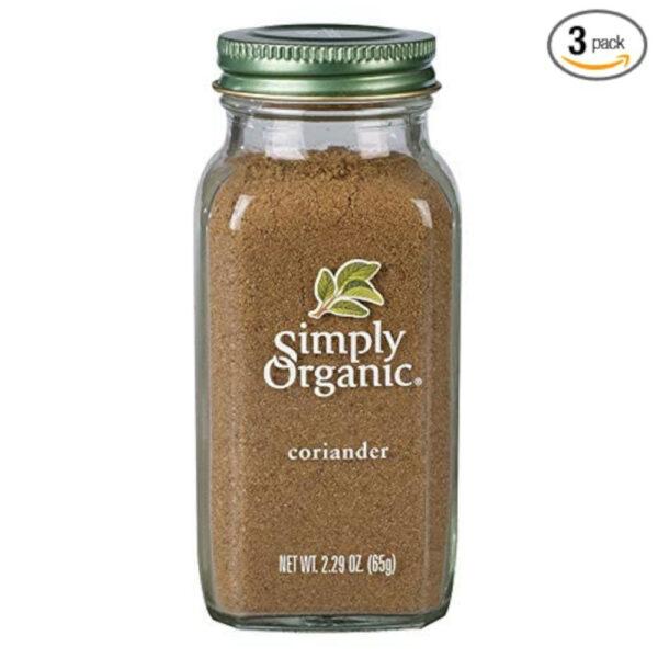 Simply Organic Ground Coriander Seed