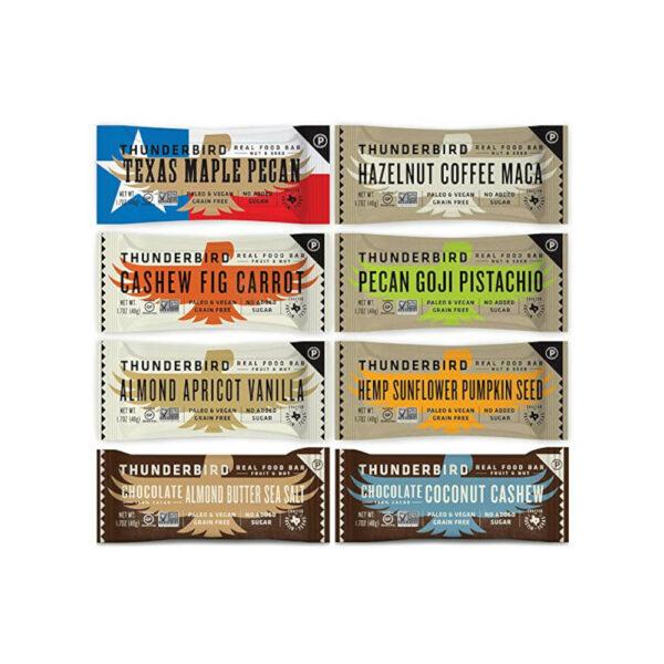 Thunderbird Paleo and Vegan Snacks Variety Pack