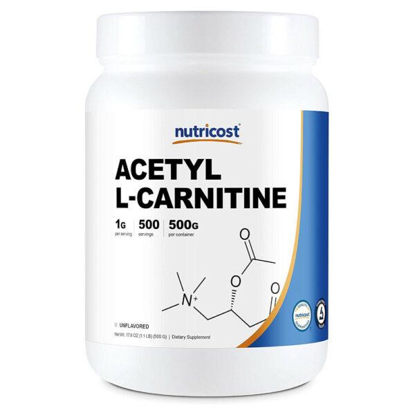 Nutricost Acetyl-L-Carnitine Powder