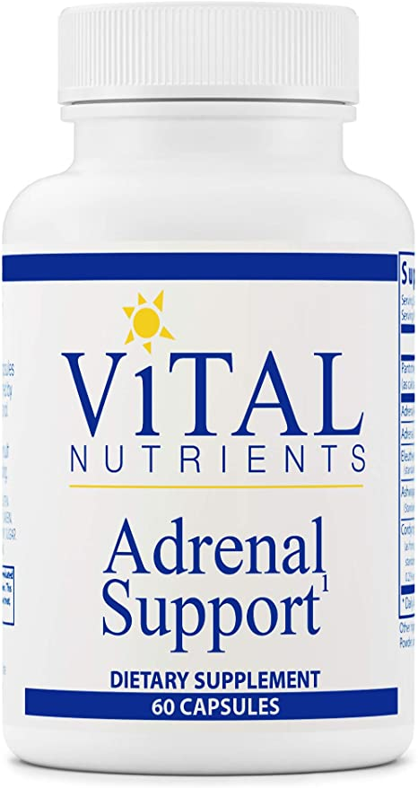 Vital Nutrients - Adrenal Support - Supplements for Men and Women - Supports Adrenal Gland Function, Supports Mild Stress and Anxiety, and Promotes a Healthy Immune System - 60 Capsules
