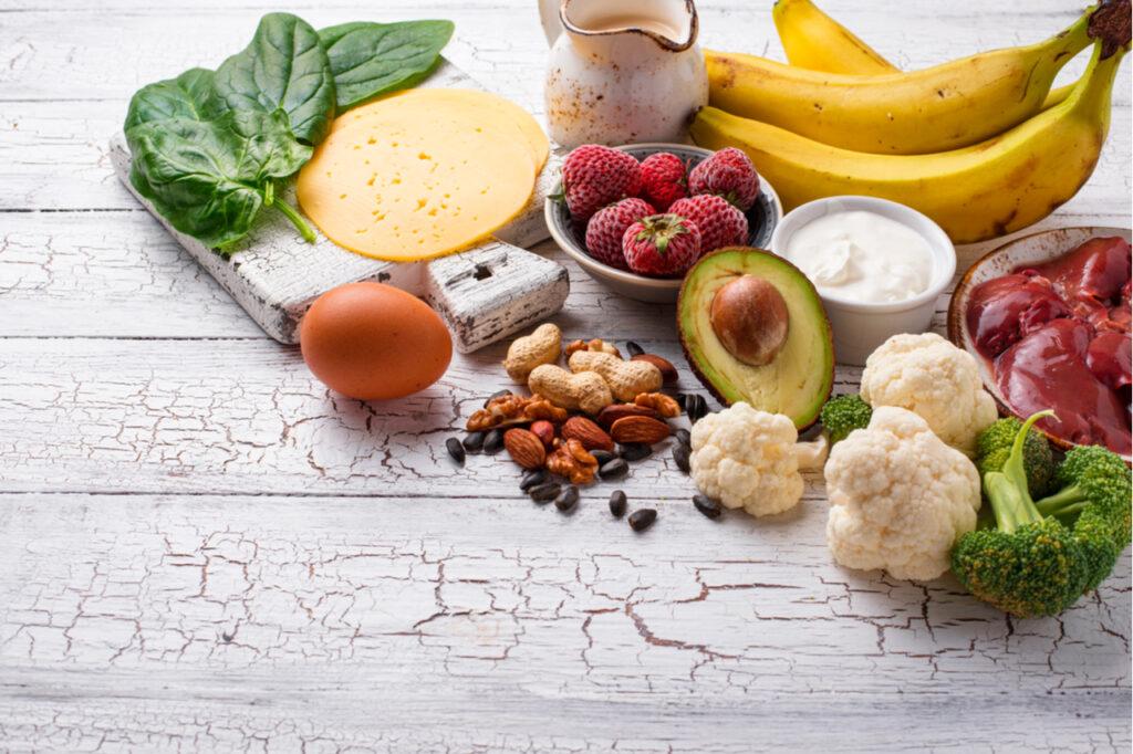 Natural sources of vitamin B7.