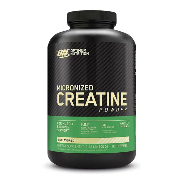 Optimum Nutrition Micronized Creatine Monohydrate Powder