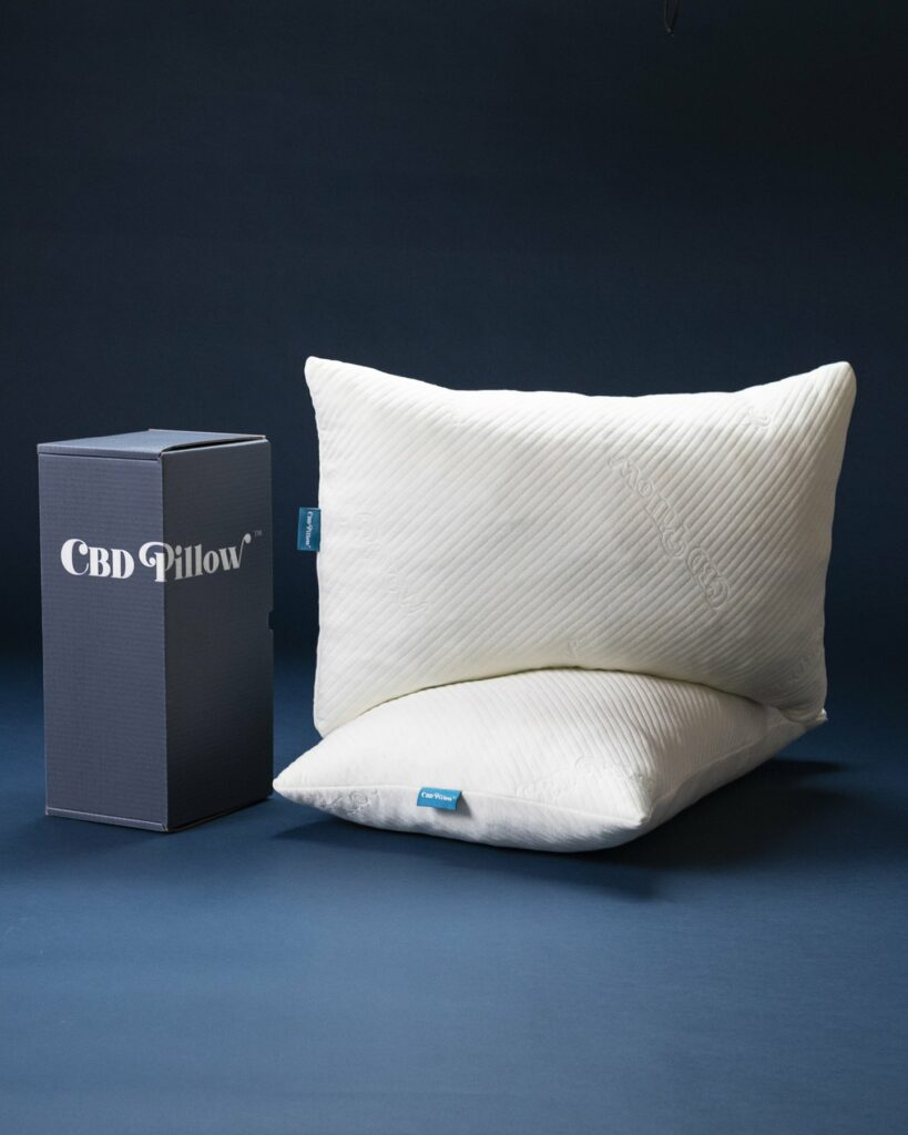 A gel memory foam pillow unlike any other. Our pillowcase is infused with millions of microcapsules filled with the highest quality CBD for deeper sleep, relaxation, and a more refreshing morning.