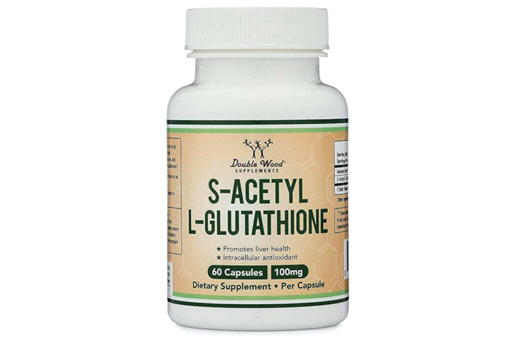 Double Wood Supplements S-Acetyl L-Glutathione
