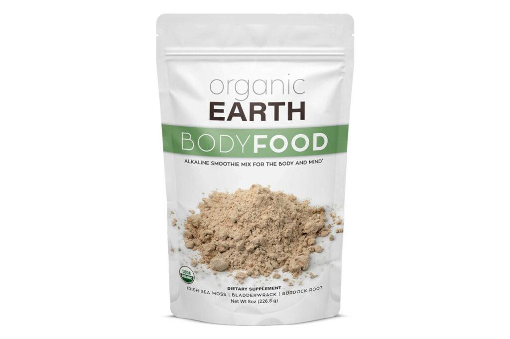 Organic Earth Iris Sea Moss Powder