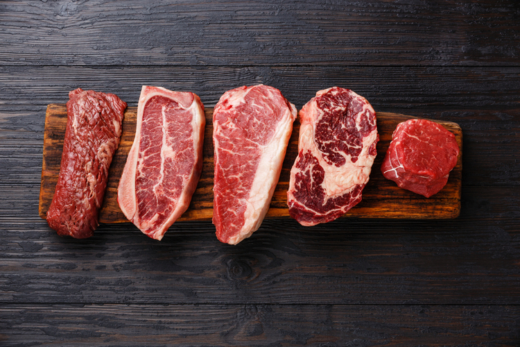 Selection of red meat but how often should you eat meat?