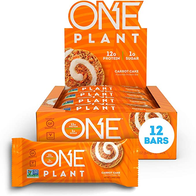 Carrot Cake ONE Plant Protein Bar