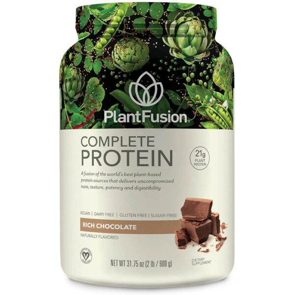 PlantFusion Complete Organic Plant Based Protein Powder