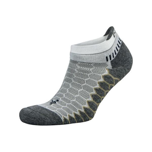 Balega Silver No-Show Compression-Fit Running Socks