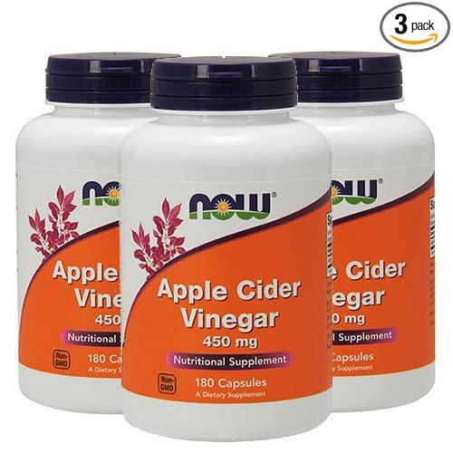 Now Foods - Apple Cider Vinegar 450 mg