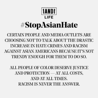 Our future must be inclusive for all, not some, to ensure the mental and physical well-being of everyone, everywhere. 🙏🏽🙏🏻🙏🏿🙏🏾 #StopAsianHate #1AND1Way