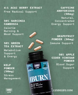 7️⃣ Natural Ingredients 💥 Benefits you can FEEL  ☕️ All while containing less caffeine than a cup of coffee!   🔗 #LinkInBio 🔗 to take advantage of Special Offers on 1AND1 Burn while supplies last. 🔥 #1AND1Way