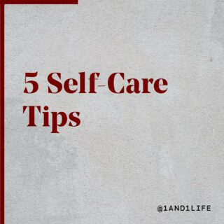 5 #selfcaretips to help get you through your week 🙌. Swipe ➡️, Save 📥, and Share 🤲!  #wellnesstips #wellnessjourney #1and1way