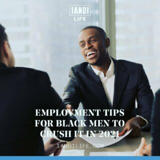 "As we wind down black history month, our co-founders wanted to highlight an article from our site that has some special significance. Here's a quote from @bigc1and1:  ""As a black man and entrepreneur, I remember how hard it was to find employment and career growth tips that were catered to me. I obviously have a different experience than some — the usual employment, career growth, and financial tips usually don't apply to us, and when I say us, I mean black men. This is why it was so important for me to get this piece out on our site. If you're a bright and committed young black male in search of more satisfying work and a higher salary, there's no better time than right now to make that happen.""   SWIPE ➡️ for some infographics and head to the ⬆️🔗 Link In Bio 🔗⬆️ for the full article. 💪🏿💪🏻💪🏽💪🏾 #1AND1Way #blackhistorymonth  #employmentopportunities"