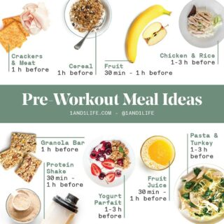 Make sure to 📥 SAVE 📥 & 📲SHARE📲! @silviareese_rd   🔗 In Bio for more pre-workout snack ideas from our expert team 💪 #1AND1Way . . . #preworkoutfood #preworkoutsnack #workoutapp #mealplanapp #customworkout #mealplanner #mealplanapproved #workoutsnap #workoutsathome #workoutsession #abworkouts  #nutritionplans #nutritiontip #nutritionistapproved #nutritionprogram #workoutsforwomen #workoutinspo #workout24 #workoutplan #workoutbuddy #mealplans #mealprepmonday #mealpreps #mindsetcoaching #mindsetmonday #athomeworkouts #fitnessapp #nutritioncoach #workoutfit