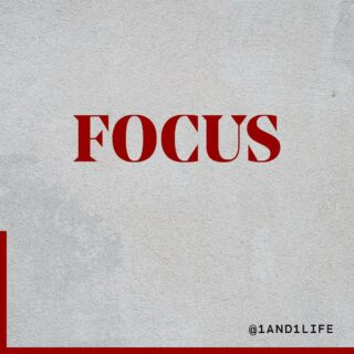 There's no secret formula to growth. Just focus 🔒  Let's go fam! #wellnesswednesday #selfcaretips #1and1way
